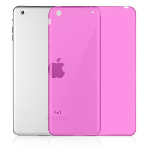 Exian iPad Mini 1 / 2 / 3 TPU Backcover Case Transparent Pink