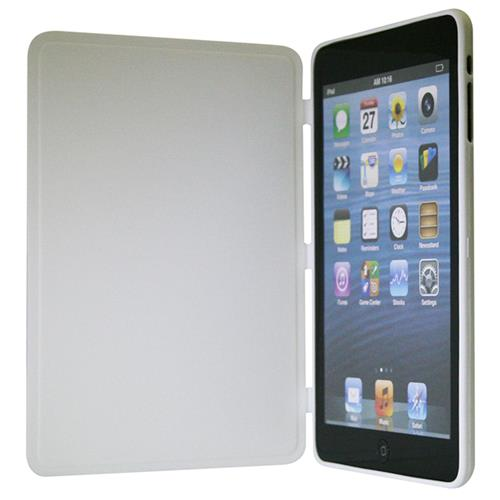Exian iPad Mini 1 / 2 / 3 TPU Flip Case White