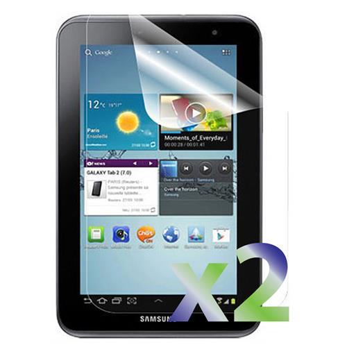 "Exian Samsung Galaxy Tab 2 7"" Screen Protectors X 2 Clear"