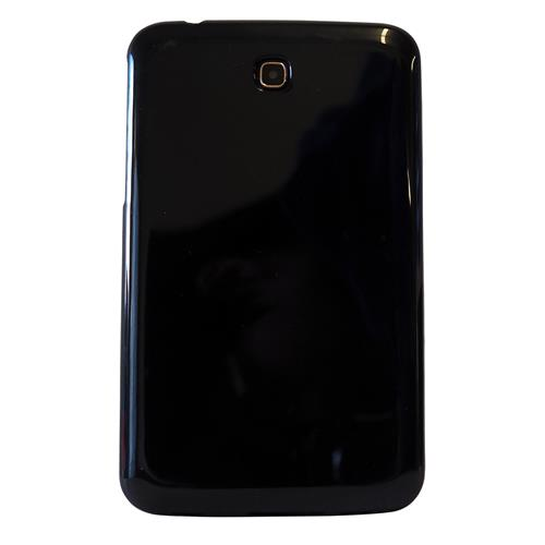 "Exian Samsung Galaxy Tab 3 7"" TPU Back cover Case Black"