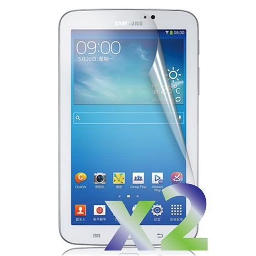 "Exian Samsung Galaxy Tab 3 7"" Screen Protectors X 2 Clear"