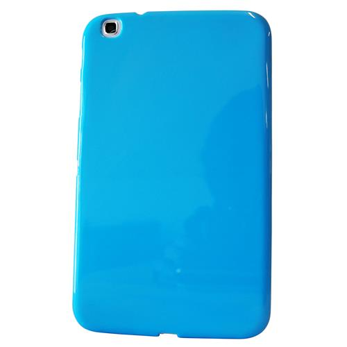 "Exian Samsung Galaxy Tab 3 8"" TPU Back cover Case Blue"