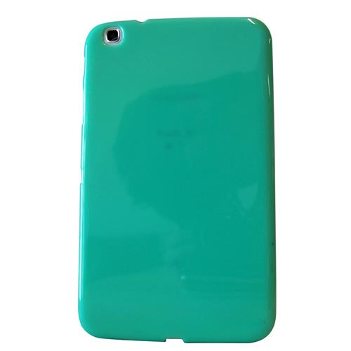 "Exian Samsung Galaxy Tab 3 8"" TPU Back cover Case Green"