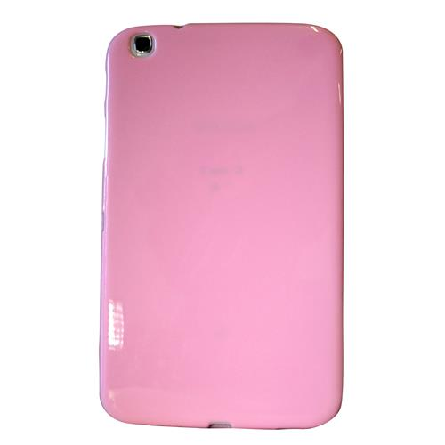 "Exian Samsung Galaxy Tab 3 8"" TPU Back cover Case Pink"