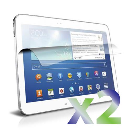 "Exian Samsung Galaxy Tab 3 10.1"" Screen Protectors X 2 Anti-Glare"