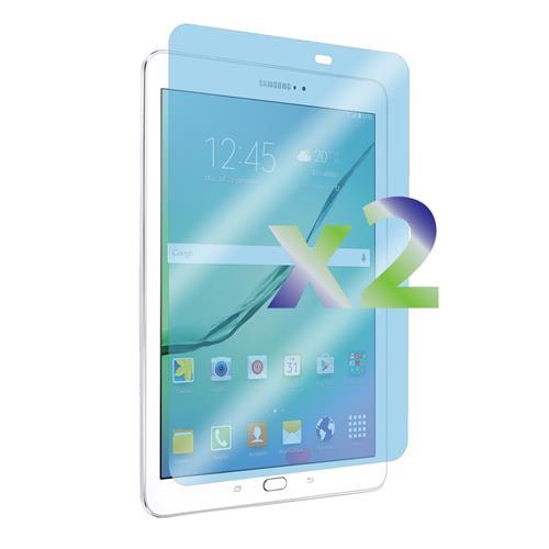 "Exian Samsung Galaxy Tab A 8"" Screen Protectors X 2 Clear"