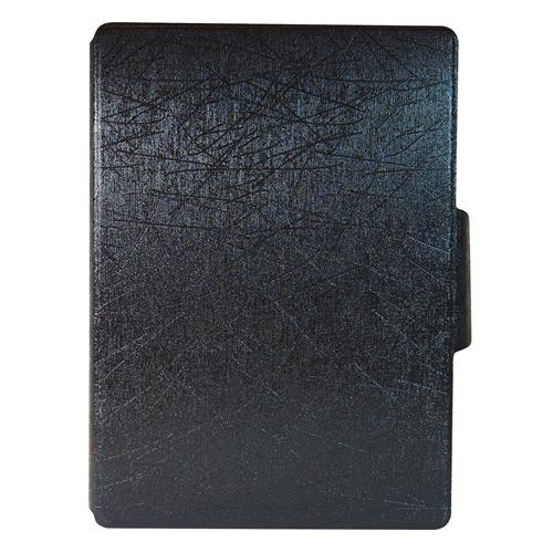 "Exian Samsung Galaxy Tab S 10.5"" PU Leather Flip Case with Pockets and Stand Black"