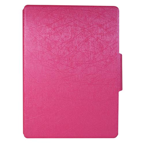 "Exian Samsung Galaxy Tab S 10.5"" PU Leather Flip Case with Pockets and Stand Pink"