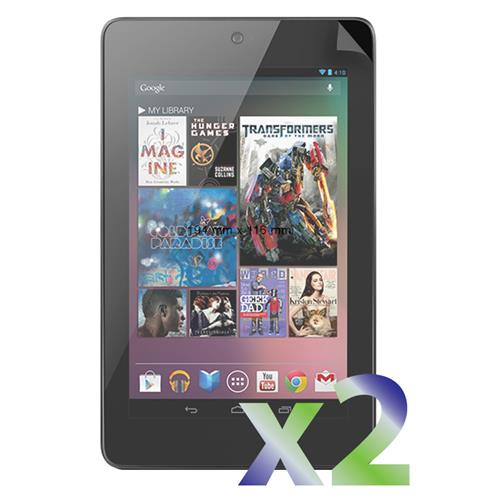 Exian Google Nexus 7 2012 Screen Protectors X 2 Anti-Glare