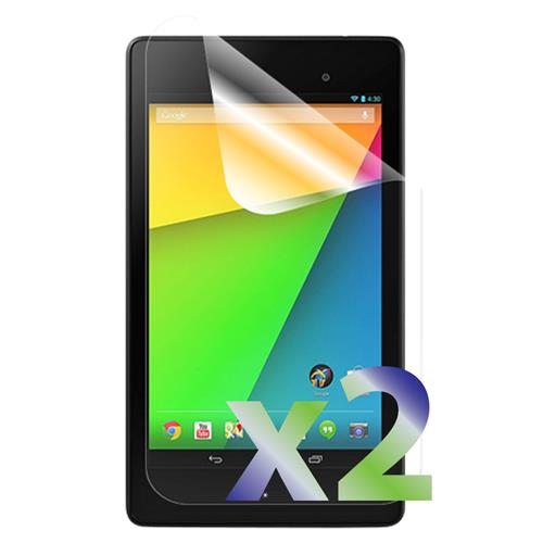 Exian Google Nexus 7 2013 Screen Protectors X 2 Anti-Glare
