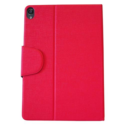 "Exian Google Nexus 9 8.4"" PU Leather Flip Case with Pockets and Stand Pink"