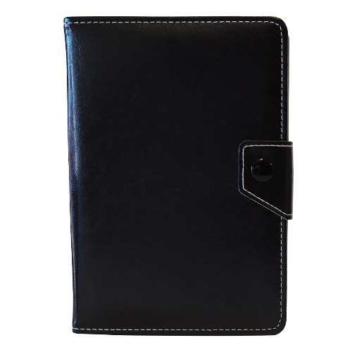 """Exian Universal PU Leather Flip Case for Tablet 8"""" Black"""