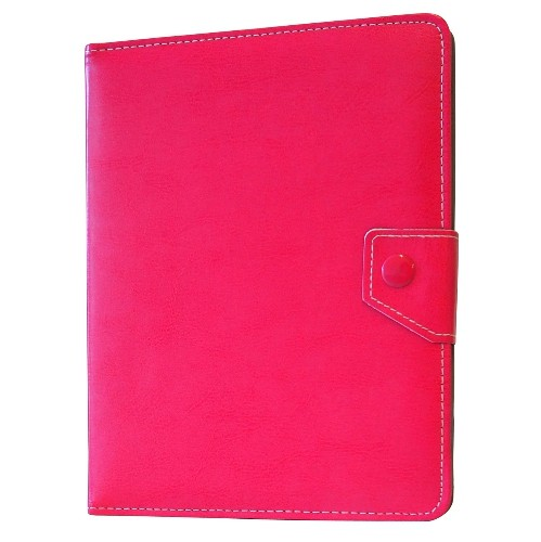 "Exian Universal PU Leather Flip Case for Tablet 8"" Pink"