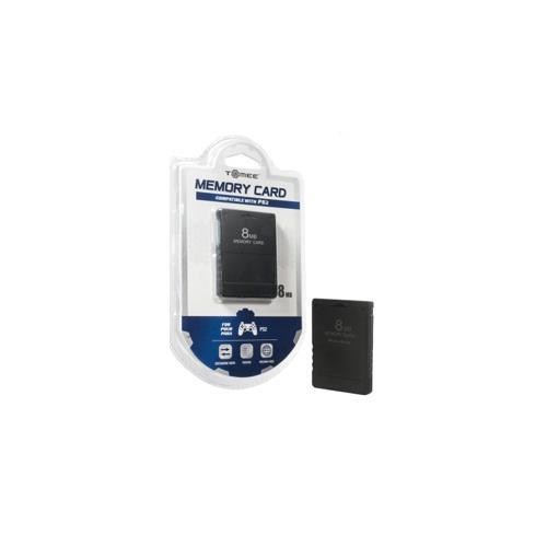 PS2 8MB Memory Card (Tomee) - PS2