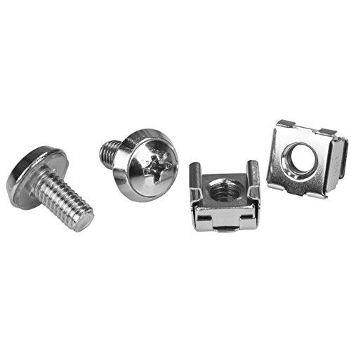 M6 Rack Screws and Nuts 20PK