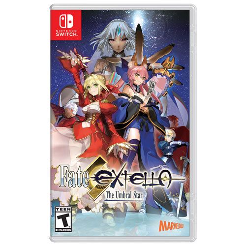 Fate/Extella: The Umbral Star (Switch) - Anglais