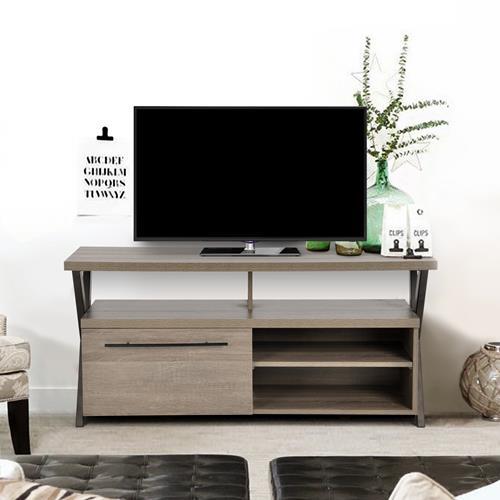Meuble pour t l viseur de 52 po de furniturer lancome for Meubles pour televiseur