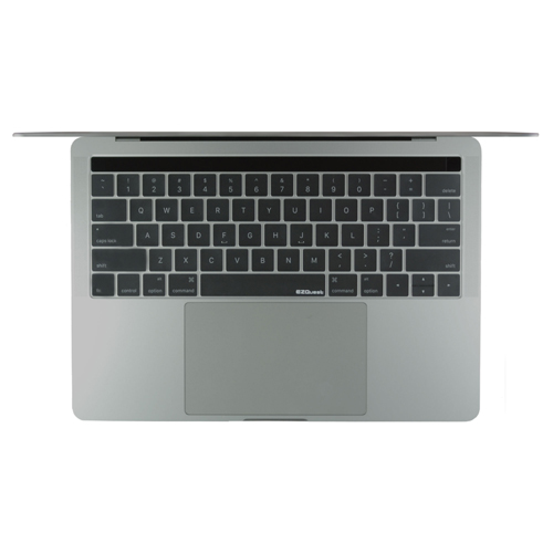 EZQuest X22313 Invisible Keyboard Cover for MacBook Pro 13-inch & 15-inch with Touch Bar late 2016 US/ISO, English