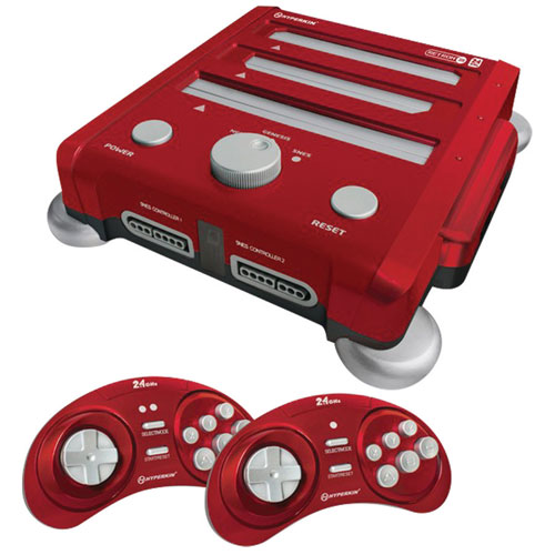 Console RetroN 3 - Rouge