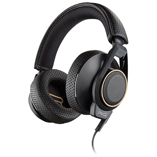 Plantronics RIG 600 Over-Ear Noise Cancelling Gaming Headset - Black