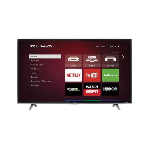 "TCL 50FS3850 50"" 1080p 120Hz Smart LED HDTV with Roku - REFURBISHED"