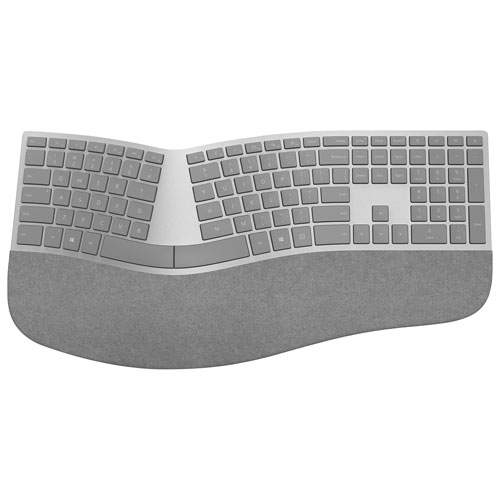 Microsoft Surface Ergonomic Keyboard - Grey - French