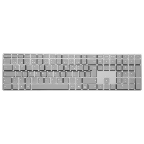 Microsoft Surface Bluetooth Keyboard - Grey - French
