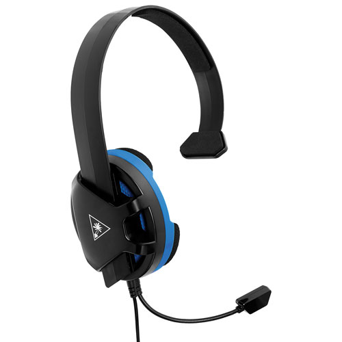 Turtle Beach Recon Chat Over-Ear Gaming Headset for PS4 - Black