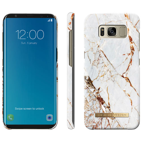 iDeal Fashion Fitted Hard Shell Case for Galaxy S8 - Gold