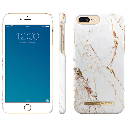 big sale 7718b ec25d iDeal of Sweden Fitted Hard Shell Case for iPhone 7/8 Plus - Carrera Gold