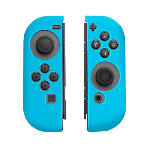 Insten Protective Silicone Skin Cover Case For Nintendo Switch Joy-Con Left&Right Controller, Blue