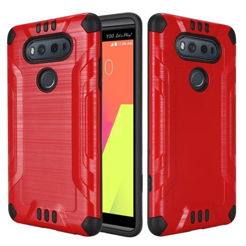 Insten Hard Dual Layer TPU Case For LG V20, Red/Black