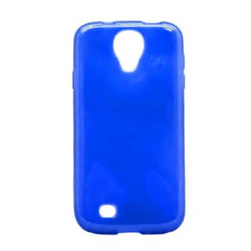 Insten TPU Cover Case For Samsung Galaxy S4, Blue
