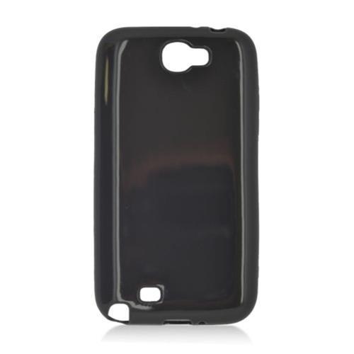 Insten Gel Cover Case For Samsung Galaxy Note II, Black