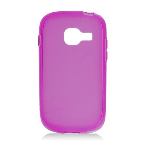 Insten Rubber Transparent Case For Samsung Galaxy Centura/Discover, Purple