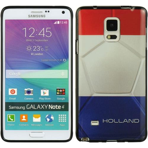 Insten Holland Gel Case For Samsung Galaxy Note 4, Red/Blue