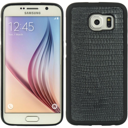 Insten Rubber Cover Case For Samsung Galaxy S6, Black