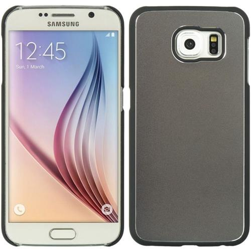 Insten Hard Metallic Case For Samsung Galaxy S6, Black