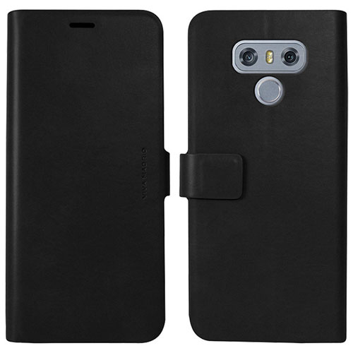 Viva Madrid Finura Folio Case for LG G6 - Black