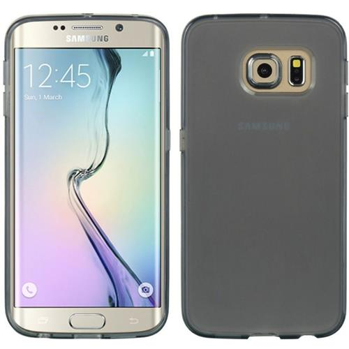 Insten Rubber Cover Case For Samsung Galaxy S6 Edge, Smoke