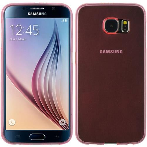 Insten Rubber Cover Case For Samsung Galaxy S6, Hot Pink