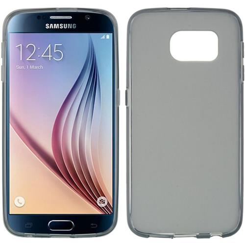 Insten Rubber Case For Samsung Galaxy S6, Smoke