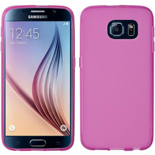 Insten Gel Case For Samsung Galaxy S6, Hot Pink
