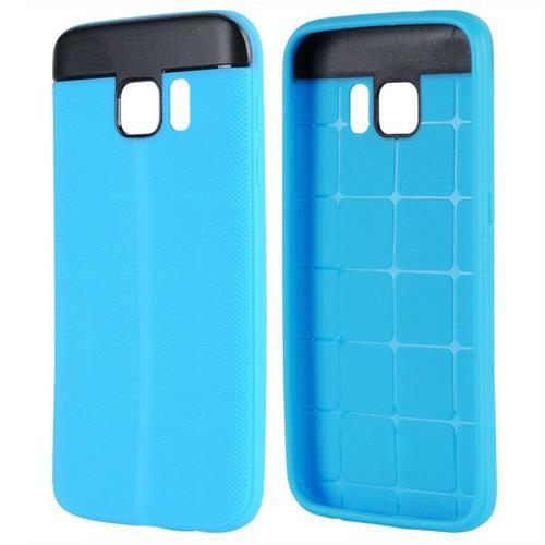 Insten Gel Case For Samsung Galaxy S7, Blue/Black