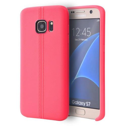 Insten Rubber Cover Case For Samsung Galaxy S7, Hot Pink