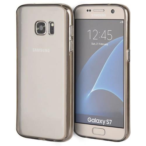 Insten TPU Case For Samsung Galaxy S7, Clear/Smoke