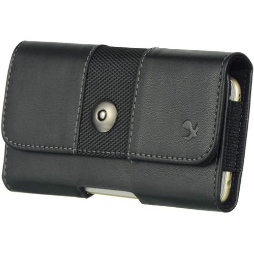 "Insten Flip Leather Fabric Cover Case For Samsung Galaxy Mega 6.3"" GT-I9200, Black"