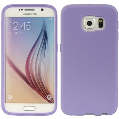 Insten Fitted Soft Shell Case for Samsung Galaxy S6 - Purple