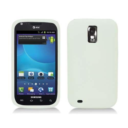 Insten Rubber Cover Case For Samsung Galaxy S2 Hercules T989, Clear