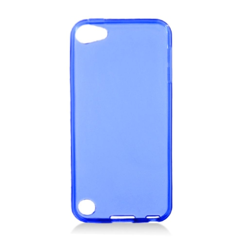 Insten TPU Transparent Cover Case For Apple iPod Touch 5th Gen, Blue